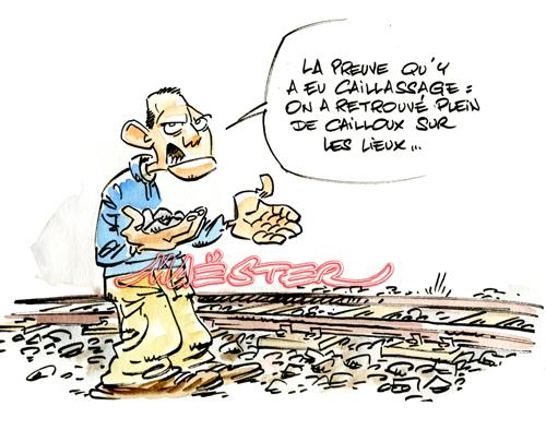 Catastrophe ferroviaire à Bretigny Vautoursbretigny002