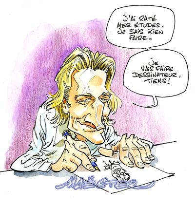 A RIRE OU EN PLEURER OU REVUE DE PRESSE SATIRIQUE - Page 3 Jean-sarkozysfar001